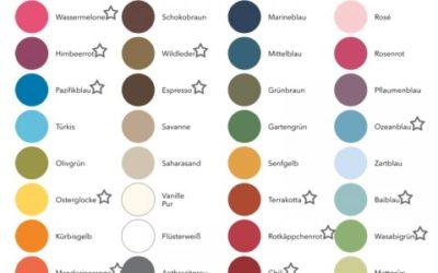 Verabschiedung von Farben