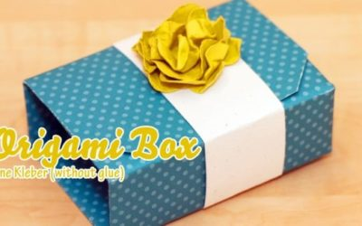 Video Tutorial – Origami Box in a Box