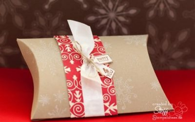 Pillow Box – Weihnachtsgeschenke hübsch verpackt