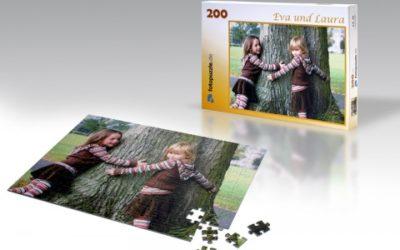 Gutschein für ein Fotopuzzle gewinnen