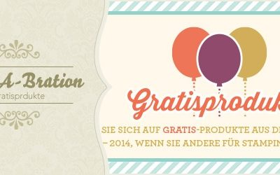 Sale-A-Bration 2013 bei Stampin' Up!