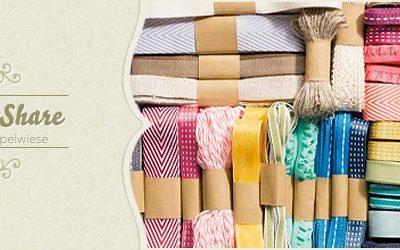 Geschenkbänder Share – Musterpakete