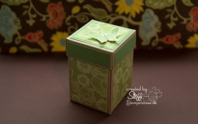Geschenkschachtel – Gewächshaus Gala