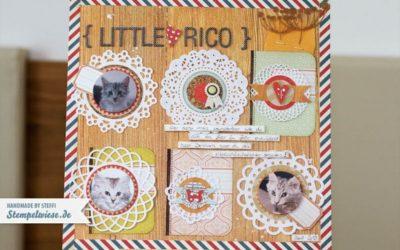 CAR4 – Scrapbook Seite – Little Rico