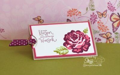 Slider Card – Eine Rose bleibt eine Rose