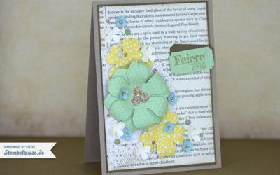 Geburtstagskarte mit Spruch-reif