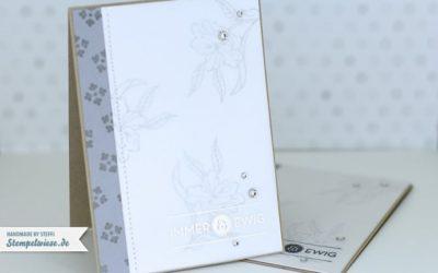 Video Anleitung – Hochzeitskarten selber basteln