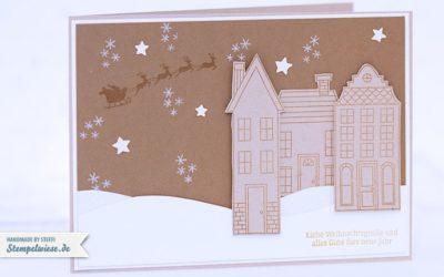 Video – Weihnachtskarte – Aus dem Häuschen
