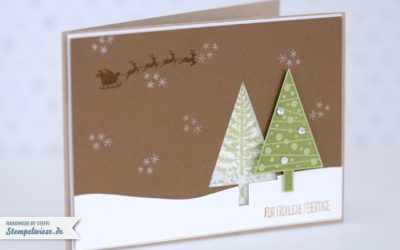 Video – Weihnachtskarte – Schüttelkarte
