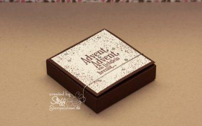Teelicht Box – Schachtel mit Craft Robo