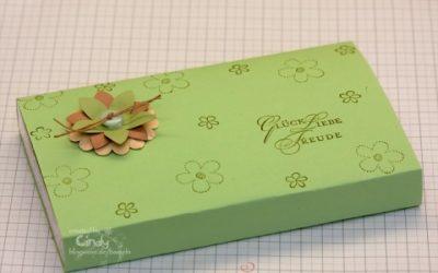 Schnelle Verpackung – Toffifee verschönert