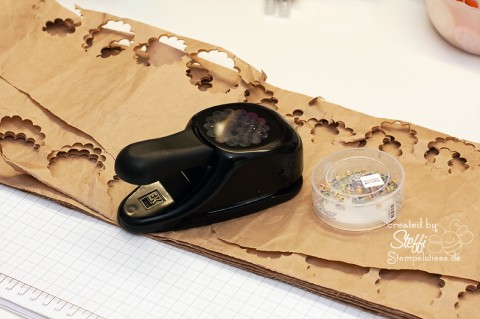 tutorial 3d blume aus packpapier selber machen. Black Bedroom Furniture Sets. Home Design Ideas