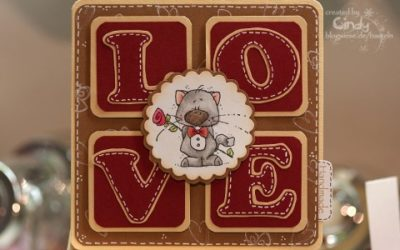 Valentinskarte – LOVE