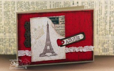 Valentinskarte – Amour