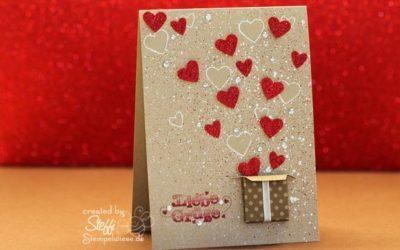 Valentinsgrüße aus dem Karton