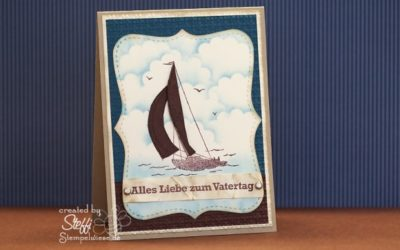 Online Workshop – Glückwunschkarte mit Sail Away – Video