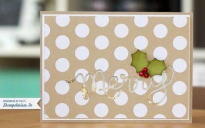 Weihnachtskarte – Schüttelkarte