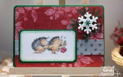 Weihnachtskarte – Penny Black