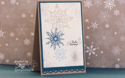 Weihnachtskarte – Frohe Festtage