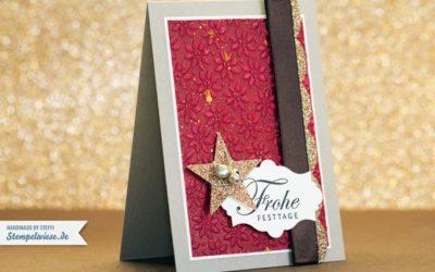 Weihnachtskarte – Grüße zum Fest