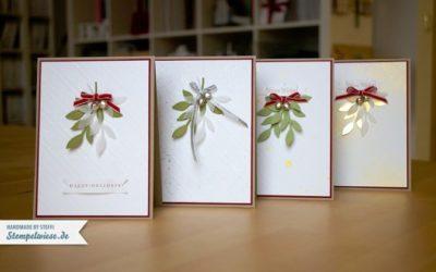 Weihnachtskarten im Set