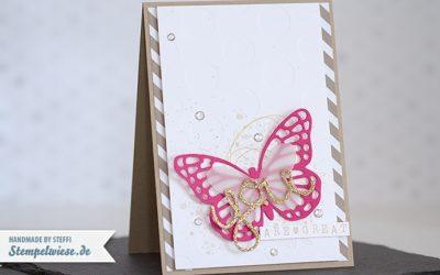 Video – Glückwunschkarte mit Schmetterling