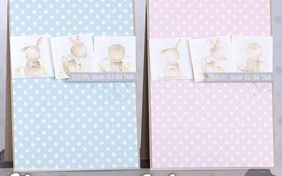 Video – How I make a card – Zur Geburt