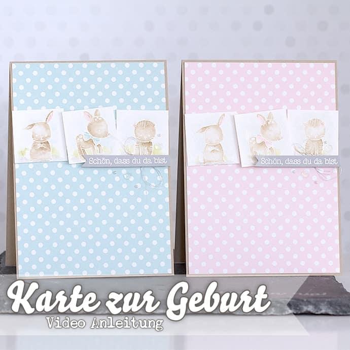 Stampin' Up! - Made with Love - Zum Nachwuchs - Baby Boy - Video ❤ Stempelwiese