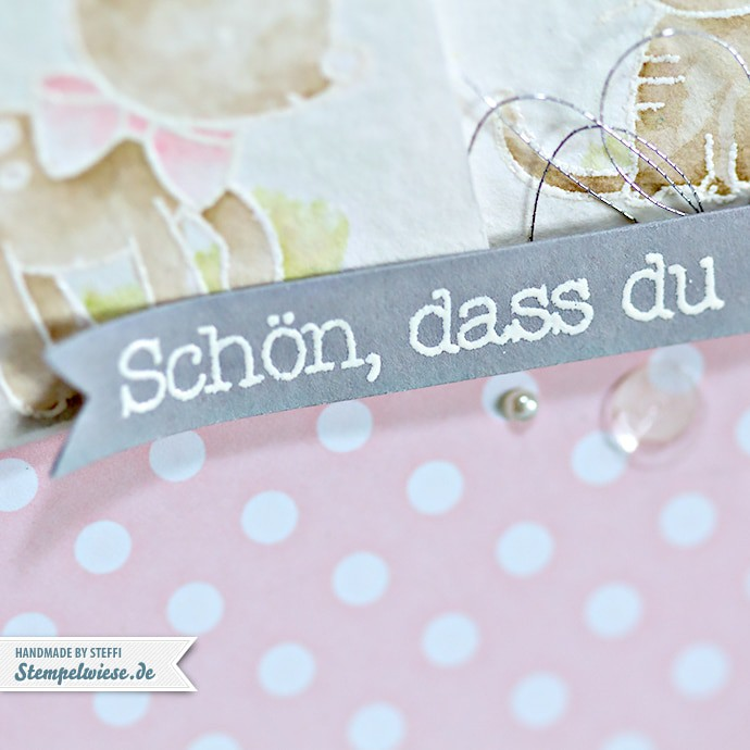 Stampin' Up! - Made with Love - Zum Nachwuchs - Baby Girl ❤ Stempelwiese