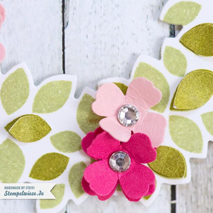 Stampin' Up! - Willkommen, Weihnacht! - Wonderous Wreath - Geburtstagskarte ❤ Stempelwiese