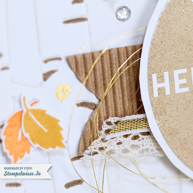 Stampin' Up! - Grußkarte - Herbst - Autumn - Among the Branches - Woodland ❤ Stempelwiese