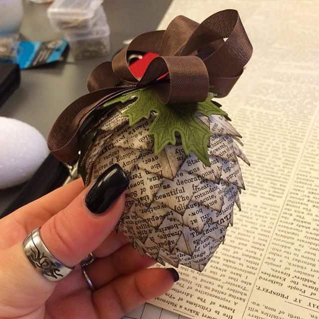 Bisschen kreativ sein ️ #stampinup #lovemyjob #stempelwiese #pinecone