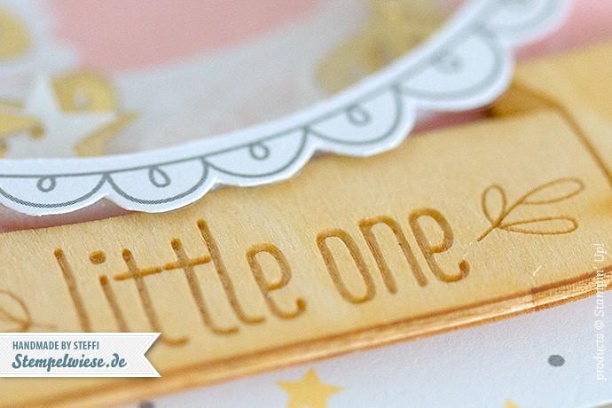 Stampin' Up! - Project Life - Hello Baby Boy & Girl - Shaker Card - Schüttelkarte - Zur Geburt - Global Design Project 003 ❤ Stempelwiese