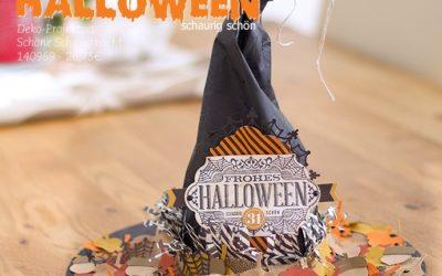 Dekoration – Hexenhut für Halloween