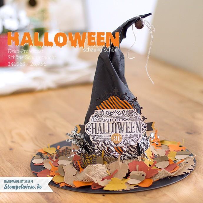 Stampin' Up! - Witching Decor Project Kit - Deko Projektset Schöne Schauernacht - Halloween ❤ Stempelwiese