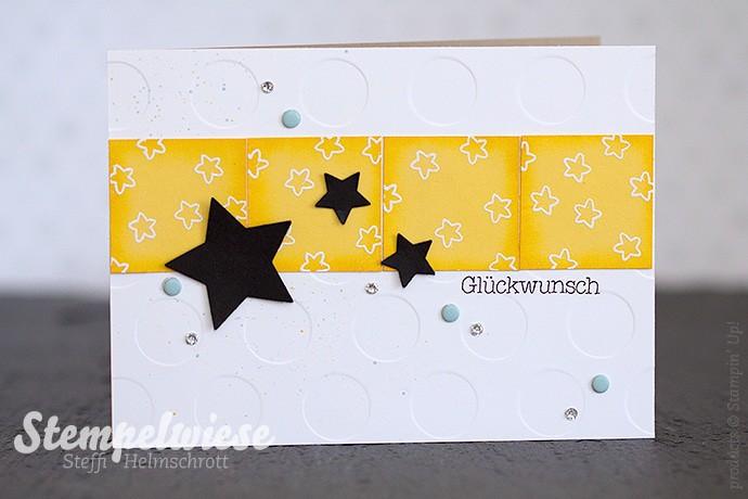 Stampin' Up! - Glückwunschkarte - Zur Geburt - Osterglocke - Sterne ❤︎ Stempelwiese