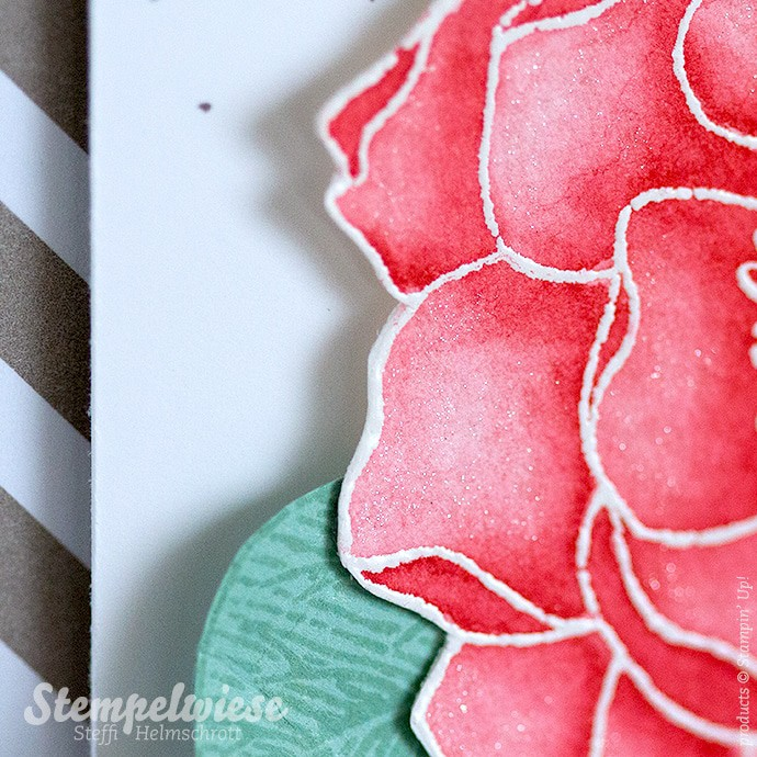 Blended Bloom - Stampin' Up! - Watercolor - Aquarell - Global Design Project ❤︎ Stempelwiese