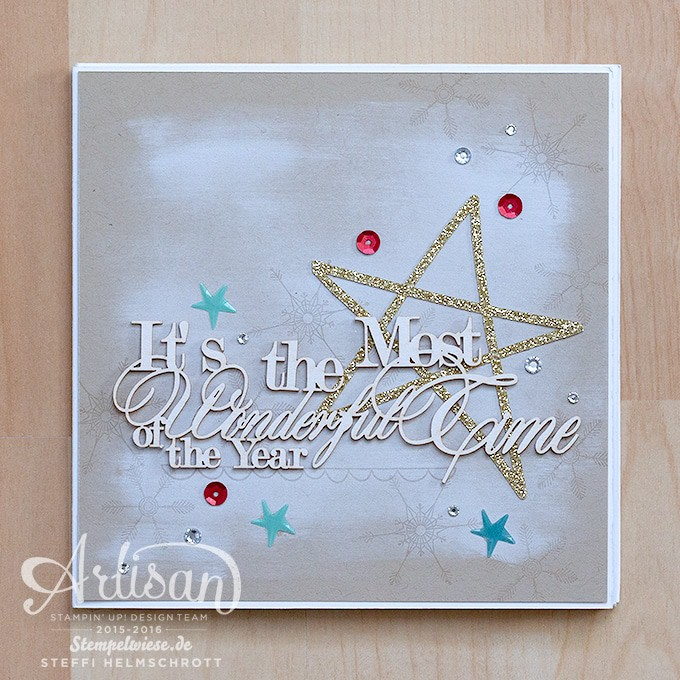 Mini Album - Stampin' Up! - Christmas - December Daily ❤︎ Stempelwiese