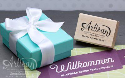 Stampin' Up! Artisan Designteam 2015/2016