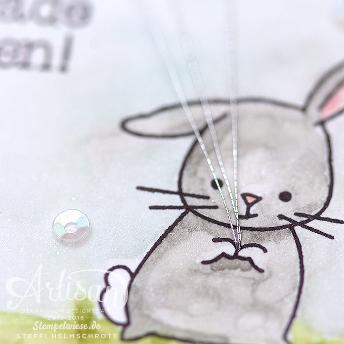 Global Design Project - Karte zur Geburt - Baby Card - Zum Nachwuchs - Watercolor ❤︎ Stempelwiese