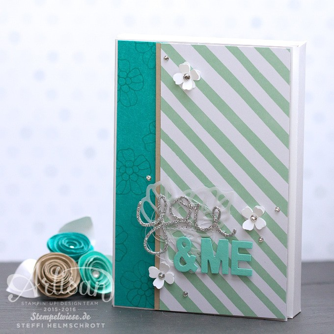 Hochzeitsalbum, Artisan Design Team, Stampin' Up!, You & Me, Stempelwiese