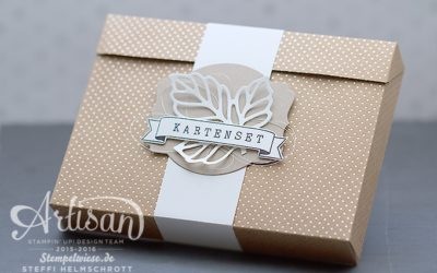 Artisan Design Team Blog Hop – Kartenset