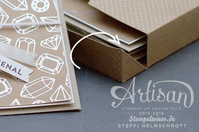 Kartenset, Artisan Stampin' Up!, Blog Hop, Designerpapier Sommerglanz, Thinlits Rosengarten, Stempelset Sonnengruß, Stempelwiese