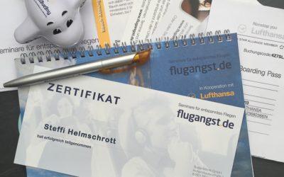 Flugangst/Aviophobie – Seminar für entspanntes Fliegen