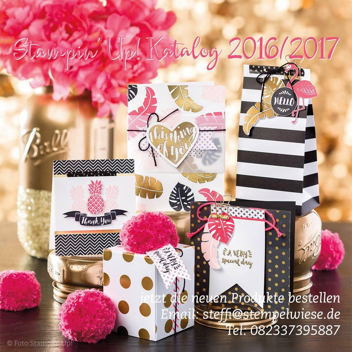 Stampin' Up! Jahreskatalog 2016/2017
