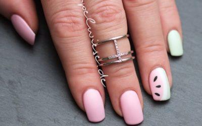 Naildesign – Watermelon Nails