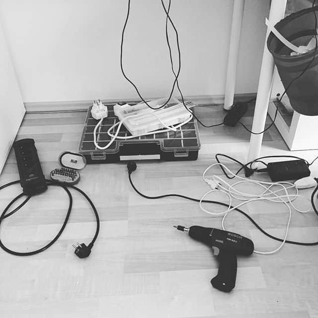 Endlich mal Ordnung unterm Tisch #mehrpower #stampinup #stempelstudio #stempelwiese