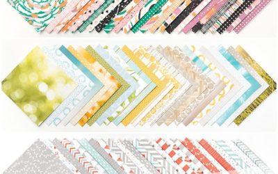 Designerpapier Share – Musterpakete 2016