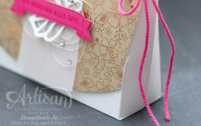 Artisan Design Team Blog Hop – Lindt Verpackung