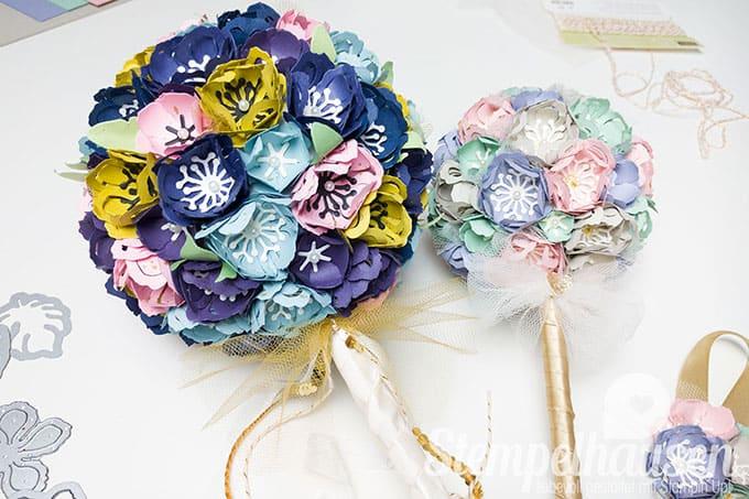 Brautstrauss aus Papier